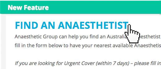 Anaesthesia Jobs Australia