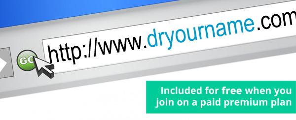 free anaesthetist doctor website on premium plan