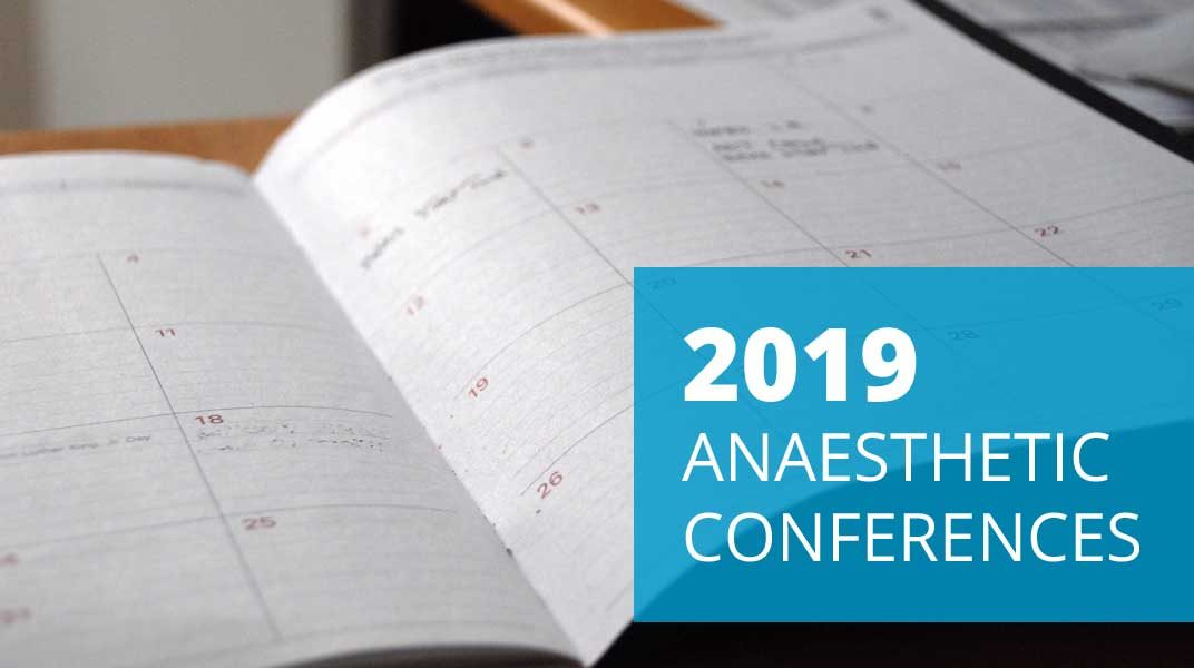 anaesthetic conferences 2019